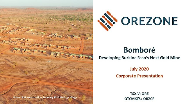 Orezone Corporate Presentation July 2020